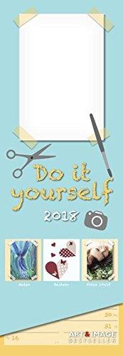 Slim Notes Do-it-yourself 2018 A&I: Bastelkalender - Streifenkalender