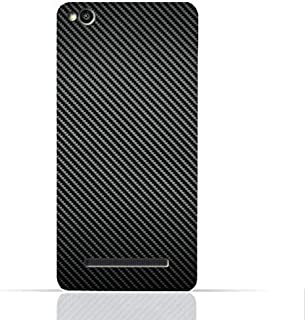 Xiaomi Redmi 4A TPU Silicone Case With Carbon Fiber Pattern Design
