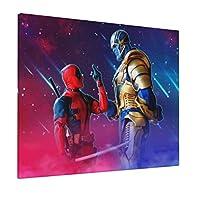 サノス Thanos 枠なし 装飾画 おしゃれ アートパネル インテリア 壁飾り フレーム装飾画 玄関 インテリア モダンアート 背景絵画 くて取り付けやすい 木枠セット40*50cm