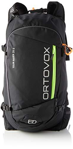 ORTOVOX Womens Tour Rider 28 S Backpack, Black Raven, 28 Liter