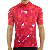 Maglia da ciclismo, da uomo, per mountain bike, a maniche corte, traspirante, confortevole...