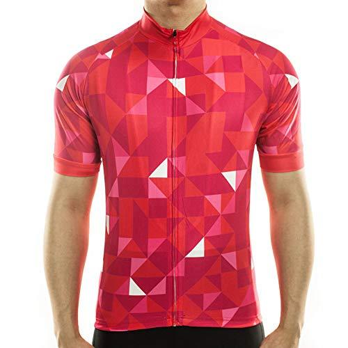 Maglia da ciclismo da uomo, maglia da mountain bike, maglia a maniche corte, traspirante, confortevole, ad asciugatura rapida, mountain bike