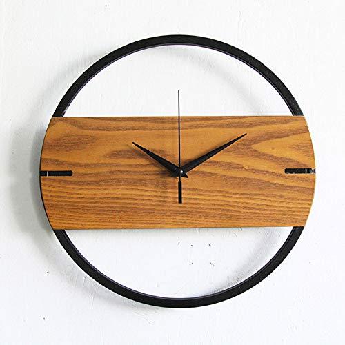 Wanduhren für Kinderzimmer Vintage Holz Shabby Chic Küche Rustikal Haus Antike Uhren Dekor Nordic Modern Kreativ und Elegant