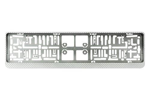 BC Corona EXT25214 Dacar 3D Porta Matricula, Plata