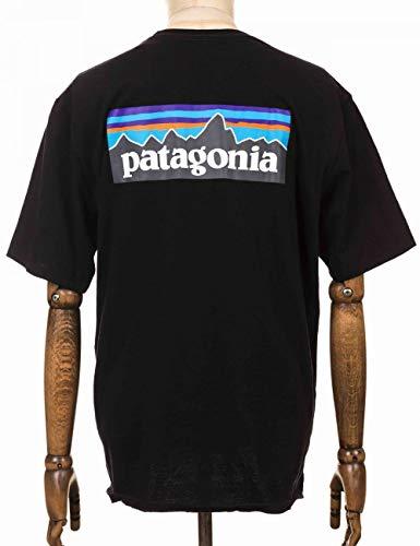 Patagonia, P-6 Logo Responsa-T Maillot Manches Courtes Homme, Noir, M