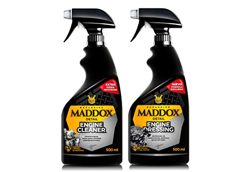 Maddox Detail - Engine Care Kit - Limpiador y abrillantador de Motor.