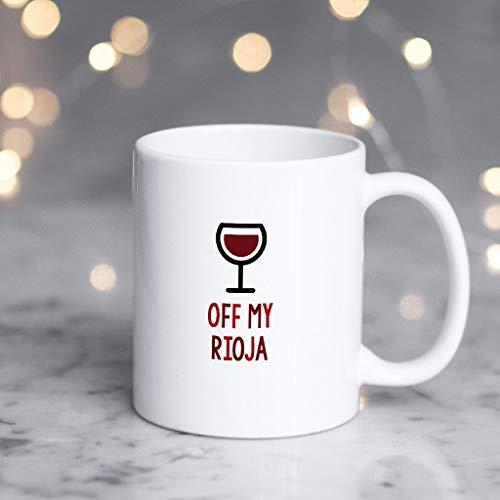 Rode Wijnmok, Grappige Rode Wijnmok, Rode Wijn Liefhebbers Gift, Rode Wijn Liefhebbers Mok, Uit Mijn Rioja Winter Mok, Thee Beker, 11 oz Koffie Mok