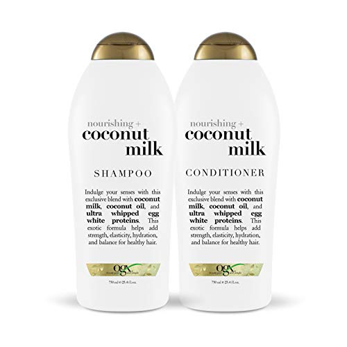 OGX Nourishing + Coconut Milk Shampoo & Conditioner, Set