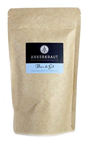 Ankerkraut Fleur de Sel, Premium-Salz, 300g im Beutel