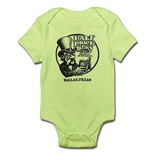 CafePress Half Price Books Infant Bodysuit Cute Infant Bodysuit Baby Romper