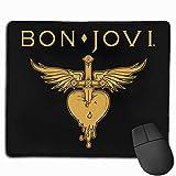 Bon Jovi Rectangular Non-Slip Rubber Mouse Pad 2530