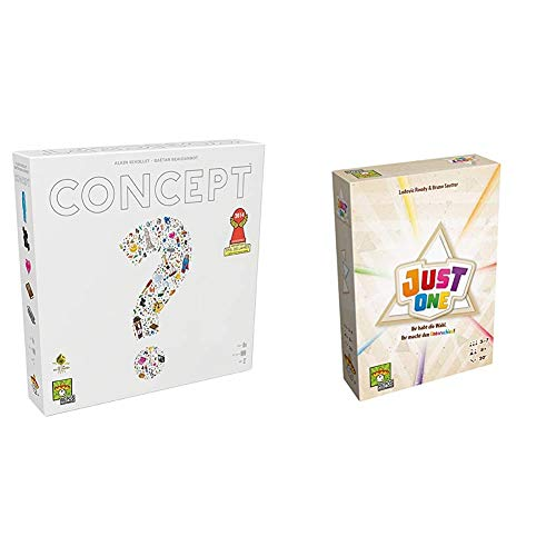 Repos Production 692193 - Concept, Familien Standardspiel & Just One, Grundspiel, Spiel des Jahres 2019