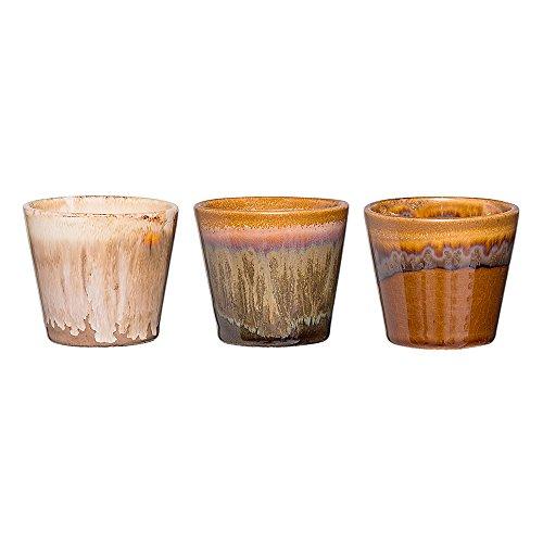 Bloomingville Teelichthalter Multi-Color 3er Set