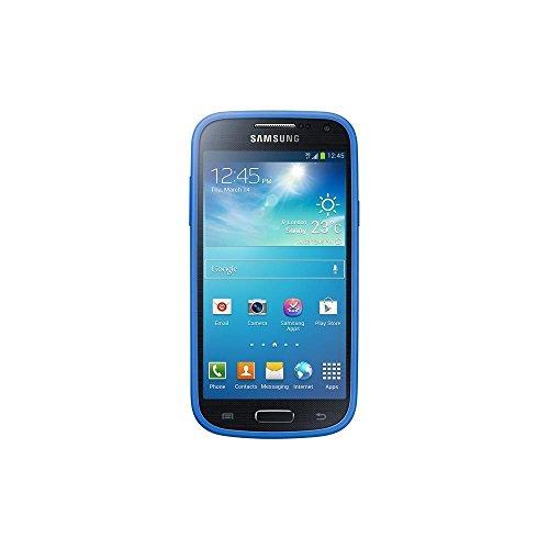 Samsung Schutzhülle Case Cover für Galaxy S4 Mini - Cyan