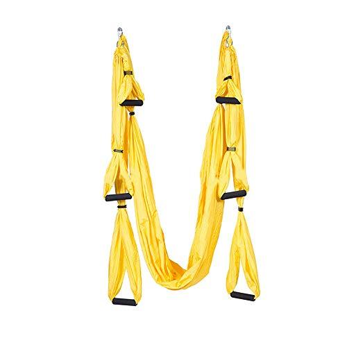 Buy Discount GoaEin Hanging Yoga Sling Durable Aerial Yoga Hammock Swing Indoor Flying Man Yoga Slin...