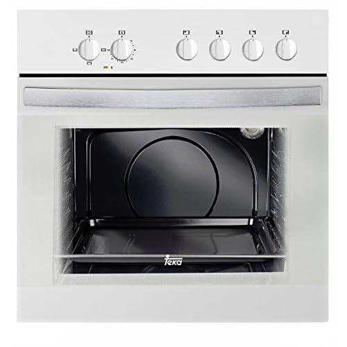 Teka HE 490 ME - Horno (59 L, 2550 W, Eléctrico, 2593 W, 220-240 V, 50 Hz) Color blanco: 187.79: Amazon.es: Grandes electrodomésticos