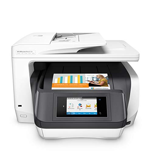 HP OfficeJet Pro 8730 Multifunktionsdrucker (Instant Ink, Drucker, Scanner, Kopierer, Fax, PCL 6, WLAN, LAN, NFC, Duplex, Airprint)