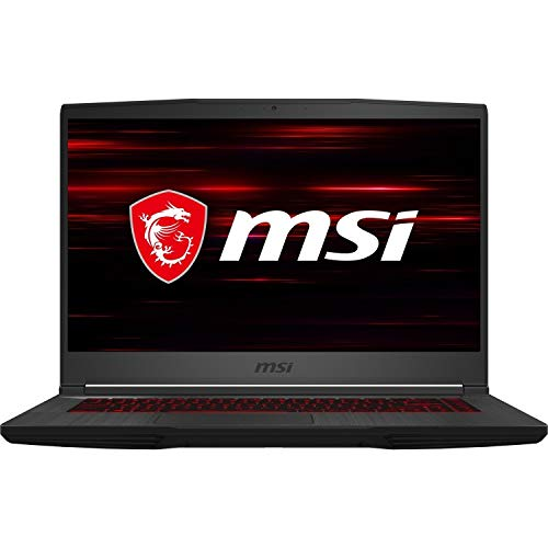 MSI GF65 Thin 10SDR-289 - 15.6 Inch Full HD 120hz Gaming Laptop, Intel Core i7-10750H, NVIDIA GeForce GTX 1660Ti, 8 GB RAM, 512 GB NVMe SSD, Windows 10 Home