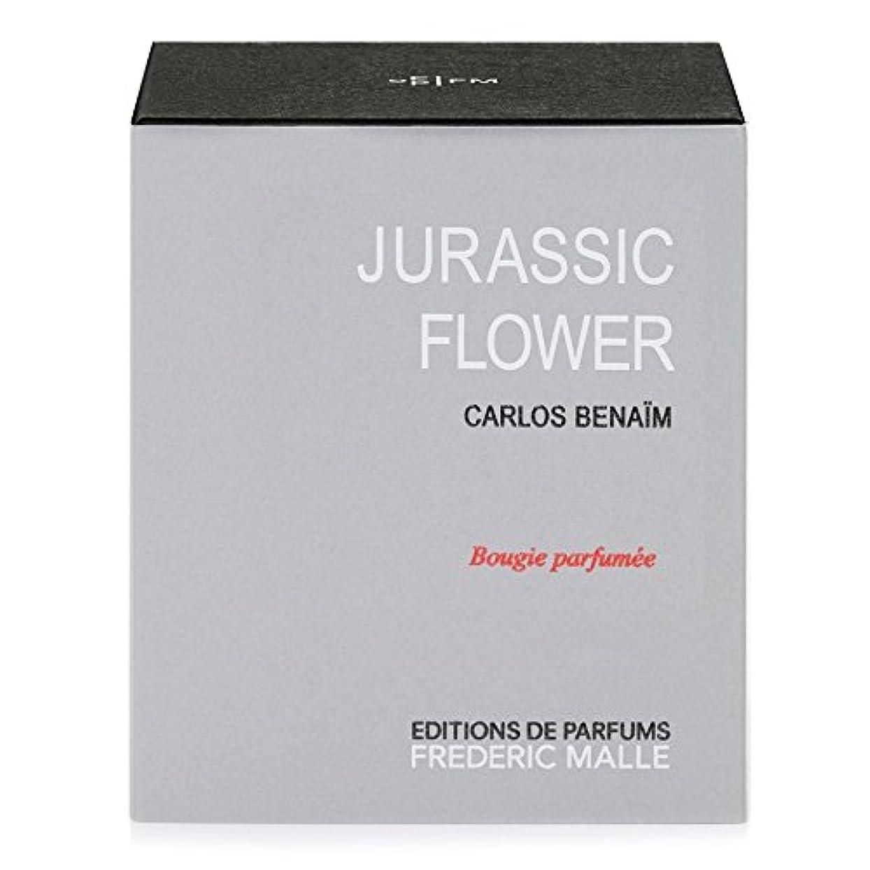 ブラウン満員独立フレデリック?マルジュラ紀の花の香りのキャンドル220グラム x6 - Frederic Malle Jurassic Flower Scented Candle 220g (Pack of 6) [並行輸入品]
