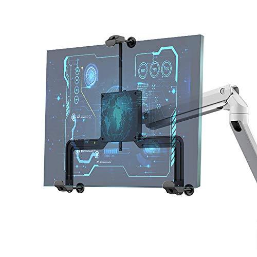 HSJCZMD Kit di Montaggio del Braccio del Monitor, Kit Adattatore Non VESA 17-32', Montaggio della schermata PC Non VESA per 17' - 32'Schermi a LED Senza Fori VESA Curved/Flat Screen