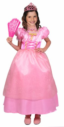 César - F281-003 - Costume - Déguisement Princesse Adèle - 8/10 Ans