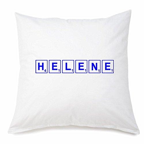 Funda de almohada de microfibra Helene en 40 cm x 40 cm con cremallera para cualquier amante/fan que esté lejos