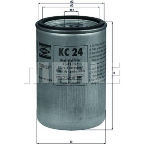 knecht KC 24Filtro de combustible