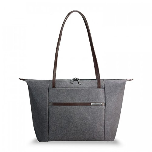Briggs & Riley Kinzie Street-Horizontal Tote Bag, Grey, One Size