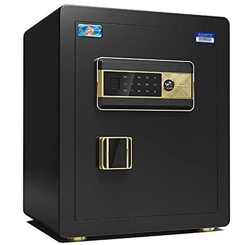 Caja fuerte de seguridad, contraseña electrónica de pantalla táctil, caja fuerte antirrobo inteligente, material de acero de aleación, alarma dual/A / 38cm×32cm×45cm