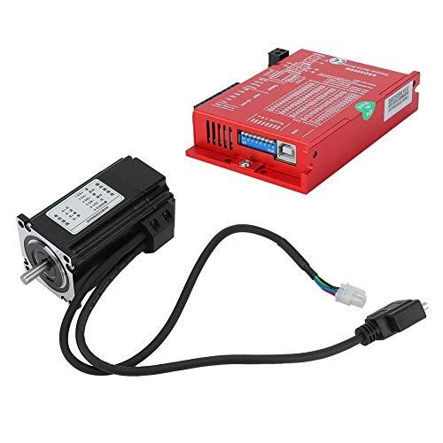 2.2N.m 57 stappenmotor hybride servo kit asdiameter 8 mm + driver 24-50 V kit onderzoek en controle voor CNC-router graveerfreesmachine