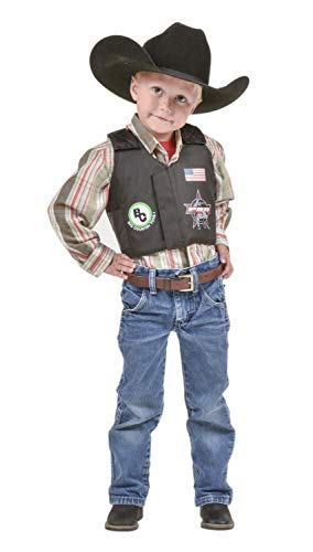Big Country Toys PBR Rodeo Vest - Kids Play Vest - Kids Riding Toys Accessories - Bull Riding & Rodeo Toys (Kids 3 Years Old (Small))