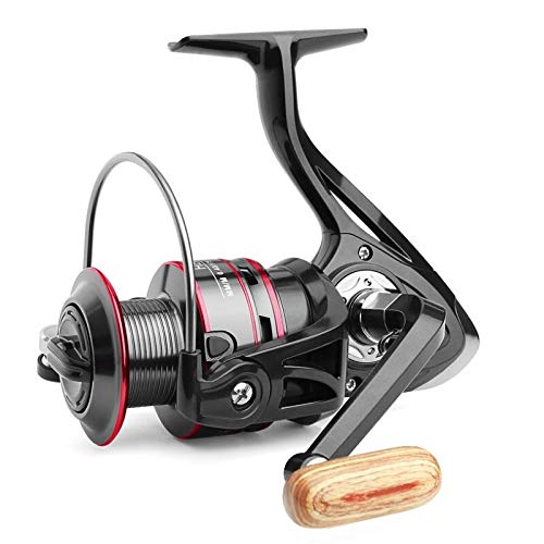 Fishing Reel Pesca Serie H500-6000 carrete de bobina de metal de giro del carrete 8KG Max Drag acero inoxidable línea de la manija del carrete de pesca de agua salada de ruedas Carretes De Pesca Surfc
