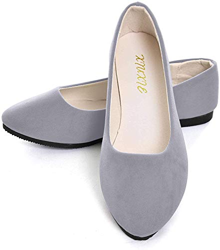 Top 10 best selling list for womens gray flat dress shoes