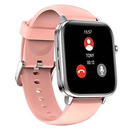 BNMY Smartwatch Reloj Inteligente Mujer Hombre Niños Modos Deportivos Fitness Tracker Ultrafinos con Monitor De Sueño Caloría Pulsómetros Pulsera Actividad Impermeable IP67 para Android iOS,D