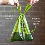 Earth Rated Easy-Tie Dog Poo Bags With Handles - 120 Extra Thick Poop Bags For Dogs   Each Unscented Doggy Waste Bag Measures 17x34cm   100% Leak-Proof Security 12