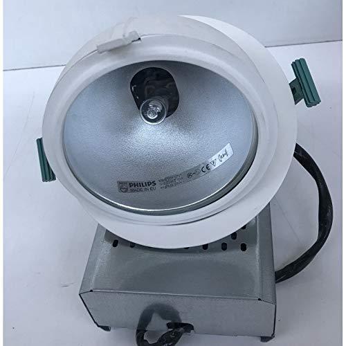 Plafón Empotrado Ø 190 mm orientable blanco Kit lámpara yoduro 70 ...