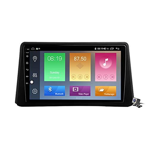 Android 10 9 Pollici Autoradio Multimediale per Opel Mokka 1 2012-2016 Supporto Navigatore GPS/FM AM RDS 5G DSP/Bluetooth Vivavoce/Carplay/Controllo del Volante,4 Core,4G+WiFi: 1+32GB