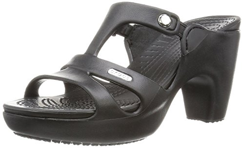 Crocs Cyprus V Heel Women, Damen Pumps, Schwarz (Black/Black), 41/42 EU