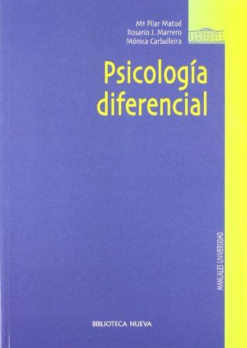 Psicología diferencial (Manuales Universidad)