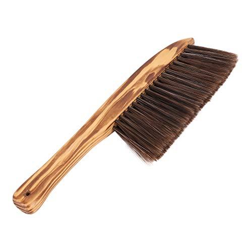 Cepillo de limpieza suave con cerdas para sofá, banco, cepillo de limpieza, oficina, hotel, familia, ropa de cama, polvo, cepillo de limpieza de pelo, herramientas de limpieza, plumeros de plumas