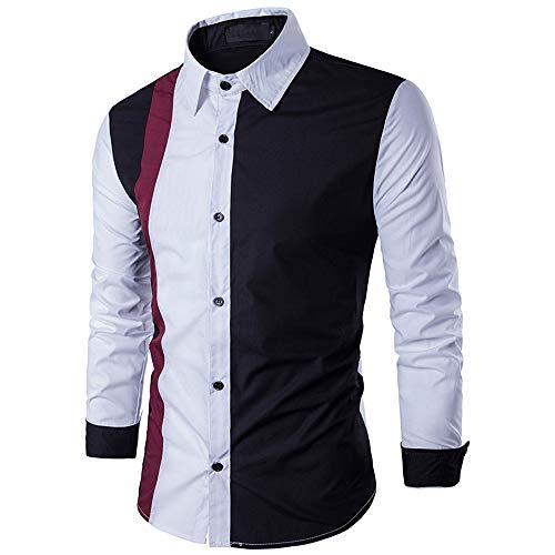 FRAUIT hemd heren, mannen Prachtig lange mouwen patchwork mode design shirts business vrije tijd party reizen dansfeest herfst winter festival super kwaliteit top blouse 100% katoen M-2XL