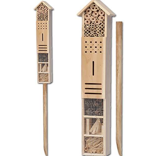JEMIDI Insektenhotel Insektenhaus Insekten Haus Hotel - Variante 2