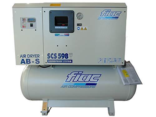 Fiac Scs 598/300 Elektrische compressor met geluidsisolatie, 270 l 5,5 Hp
