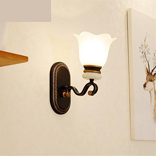 LIYAN lámpara de pared Aplique de pared Base E26/27 Lámpara de hierro...