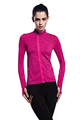 Women's Stretchy Workout Dri-Fit Hooded Jacket