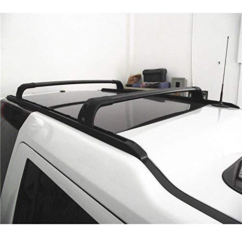 YIJIAREN Aluminium Dachträgerschienen Seitenschienen für Land Rover Discovery 3 LR3 2004-2009 Dachträger Querstangen Passend (4St) Schwarz