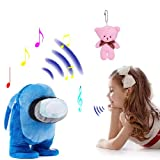 Farberly Talking Among Us Plush Toy | Walking Repeats What You Say Singing 3 Kinds of Music , | Interactive Electronic Toys, for Boys, Birthday Gift for Kids