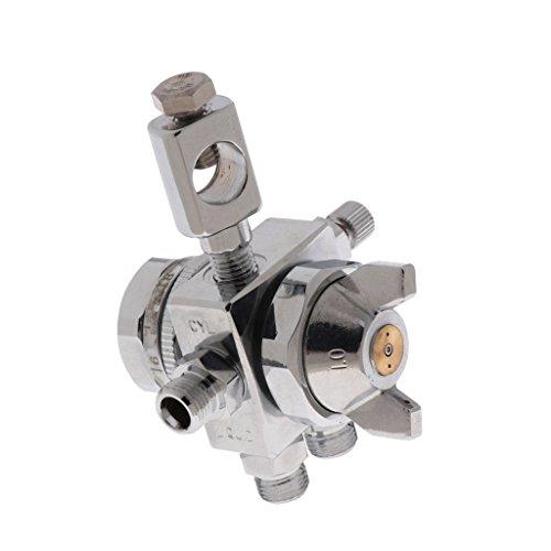 D DOLITY Automatische Lackierpistole Spritzpistole Praktisch für Betrieb mit Farbnadel und Farbdüse, Geräuscharm - Wie beschrieben 1,5 mm Düse