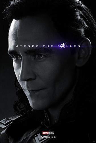 The Avengers Endgame – Loki – U.S Movie Wall Poster Print - 30cm x 43cm / 12 Inches x 17 Inches