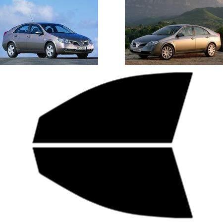 Láminas Solares para Tintar Las Lunas del Coche-Nissan Primera 4-Puertas Sedán 2002-2008 Ventanas Laterales Delanteras (70% Ahumado Ultra Ligero)